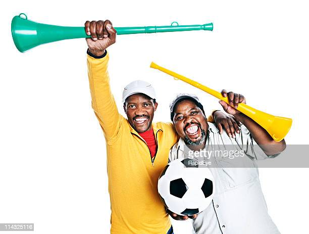 South African soccer fans
