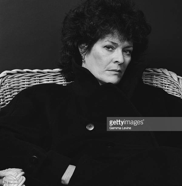South African stage and screen actress Janet Suzman 1985