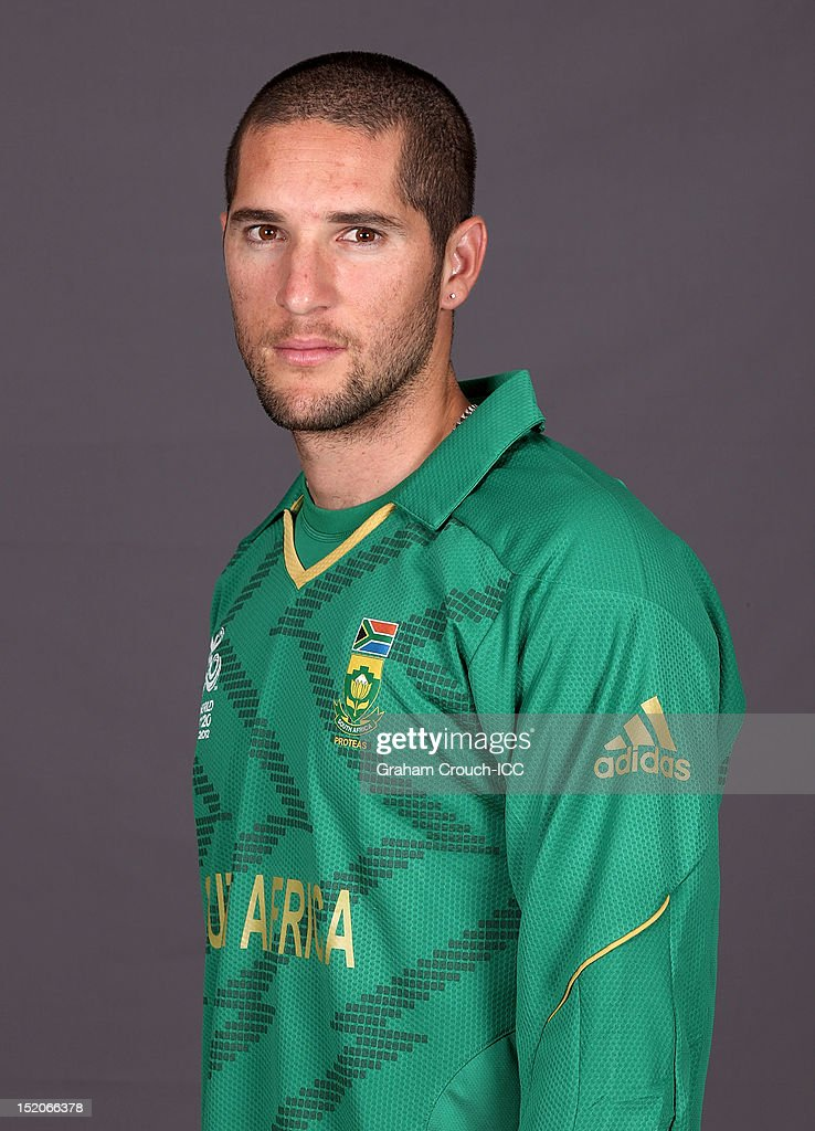 South African Wayne Parnell poses at a portrait session ahead of the ICC T20 World Cup on September 16, 2012 in Colombo, Sri Lanka.