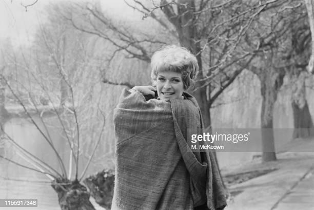 South AfricanBritish actress Janet Suzman in StratforduponAvon UK 13th April 1965