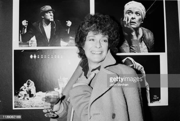 South AfricanBritish actress Janet Suzman UK 28th February 1984