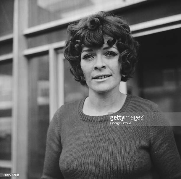 South African/British actress of the Royal Shakespeare Company Janet Suzman UK 18th February 1968