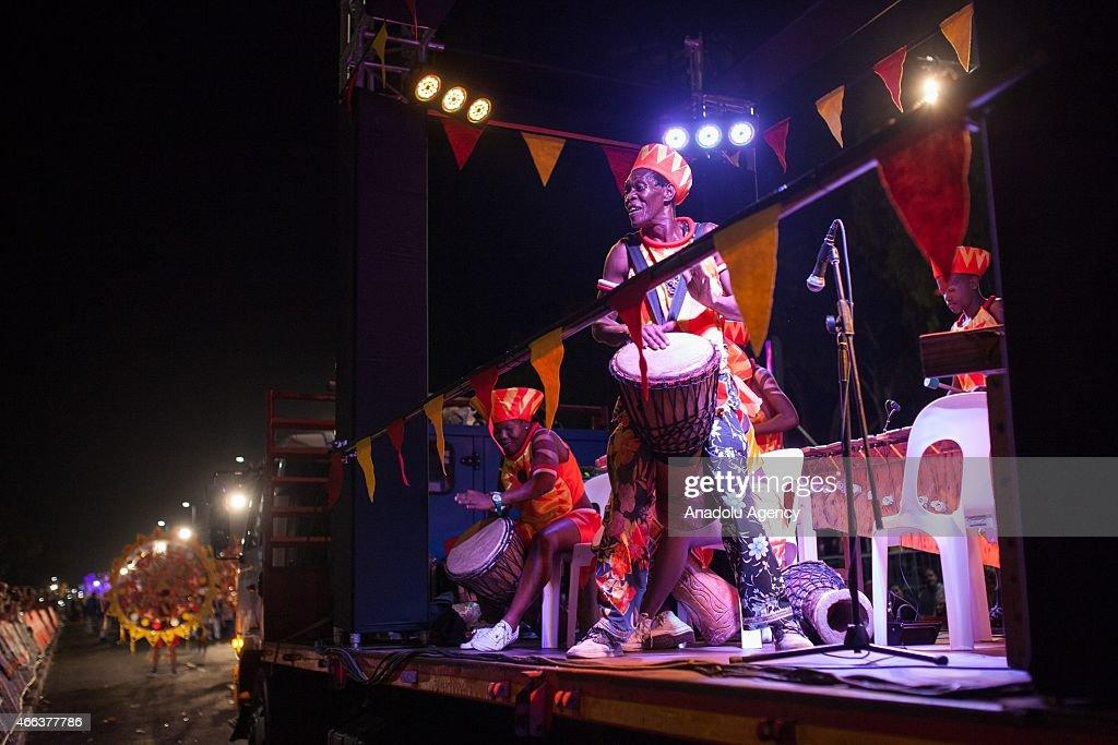 2015 Cape Town Carnival in South Africa : Nachrichtenfoto