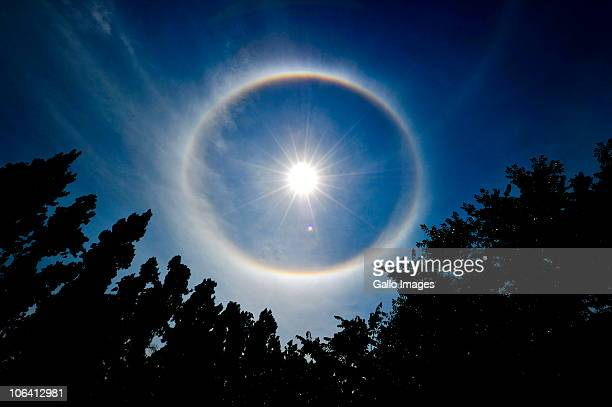 South Africans were surprised to see a rainbow wrapped around the sun almost like a halo at around 10am on 1 November 2010 This phenomenon is called...