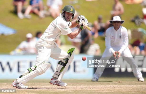 South Africa's AB deVilliers during the First Test at the SuperSport Park Centurion South Africa