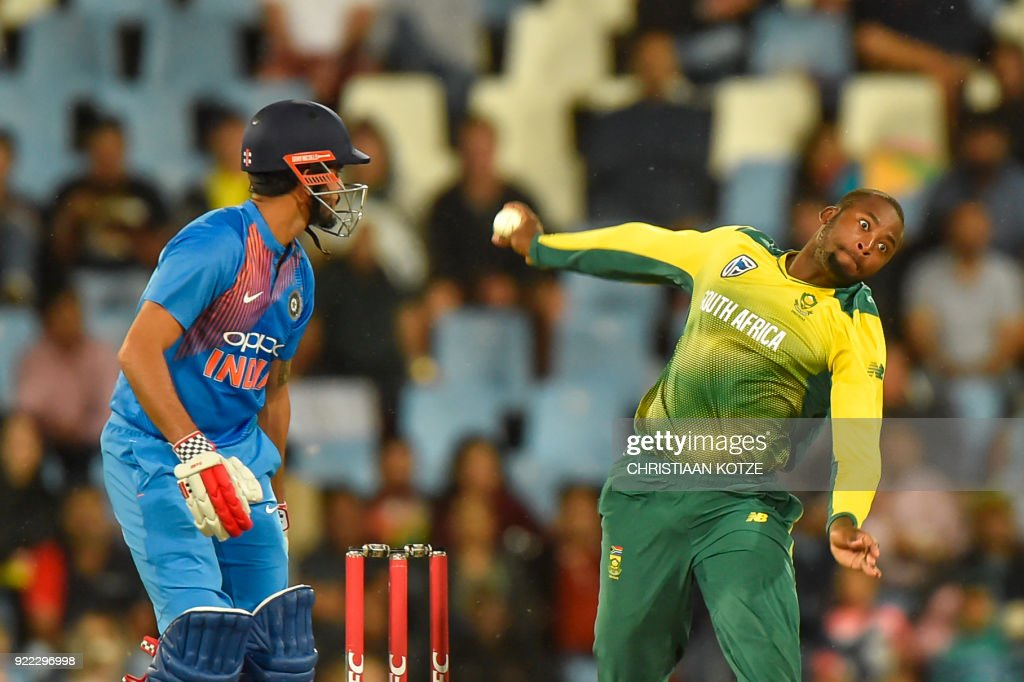 CRICKET-RSA-IND-T20 : News Photo