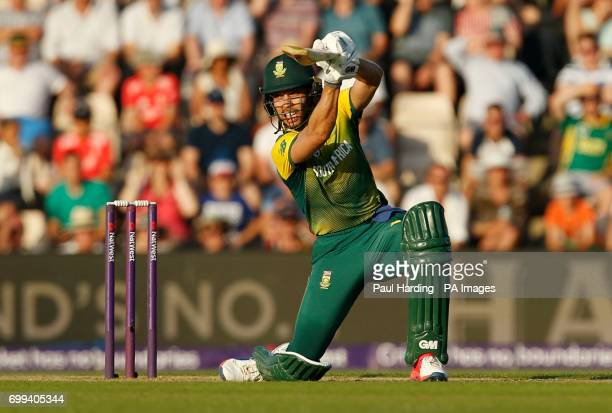 South Africa's Farhaan Behardien during the1st NatWest T20 Blast match at the Ageas Bowl Southampton