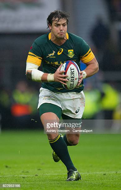 South Africa's Francois Venter during the Old Mutual Wealth Series Autumn International match between England and South Africa at Twickenham Stadium...