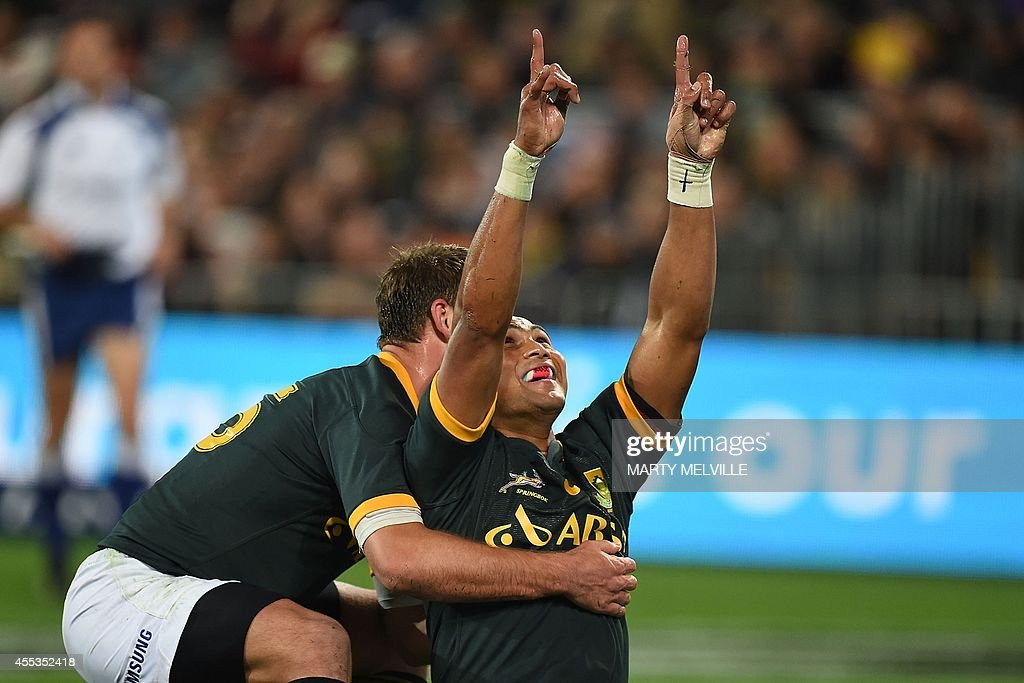 RUGBYU-4NATIONS-NZL-RSA : News Photo