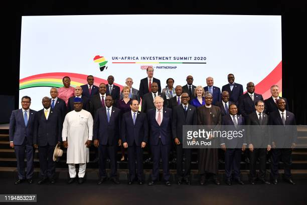 South Africa's Minister of International Relations and Cooperation Naledi Mandisa Pandor, Ethiopia's Prime Minister Abiy Ahmend, Angola's President...