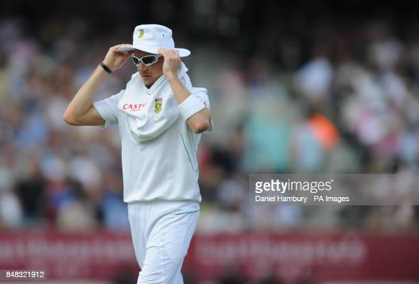 South Africa's Morne Morkel during the Investec first test match at the Kia Oval London