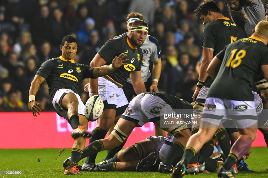 RUGBYU-SCO-RSA : News Photo