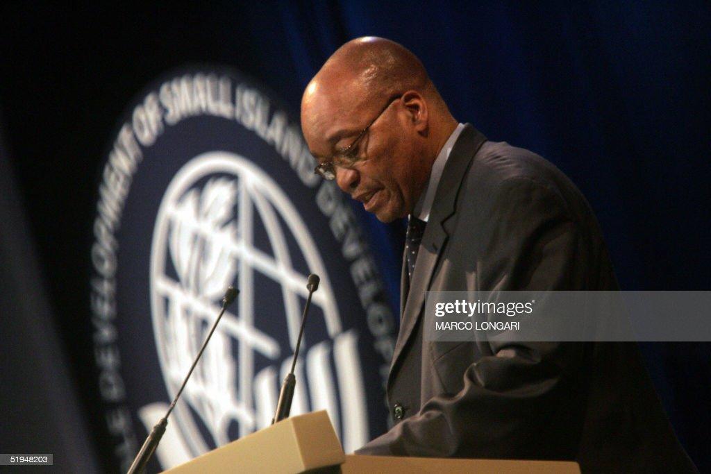 South Africa's Vice President Jakob Zuma : News Photo