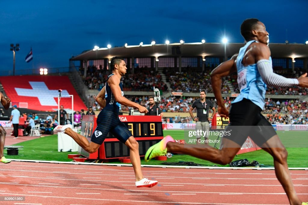 ATHLETICS-SUI-IAAF-DIAMOND-LEAGUE-ATHLETISSIMA-400M : News Photo