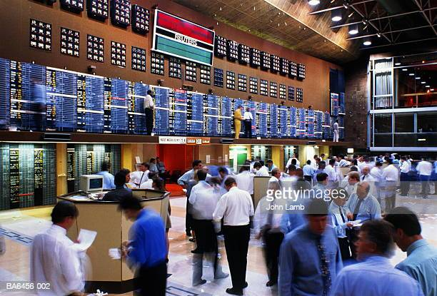 South Africa,Transvaal,Johannesburg Stock Exchange trading floor
