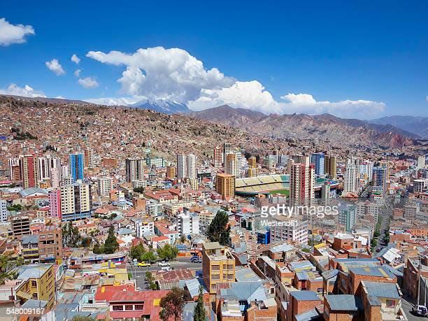 South America, Bolivia, La Paz, cityscape