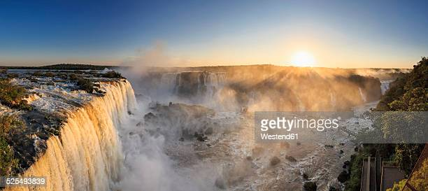 South America, Brazil, Parana, Iguazu National Park, Iguazu Falls