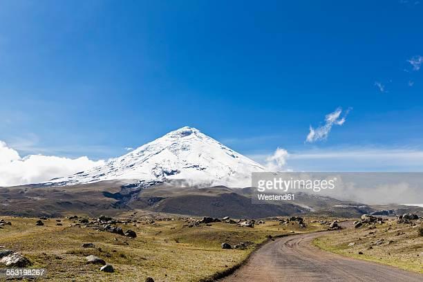 South America, Ecuador, Andes, Volcano Cotopaxi, Cotopaxi National Park