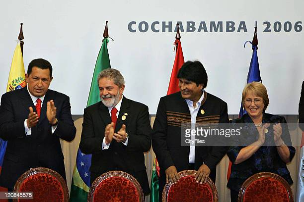 South American Community two-day Summit in Cochabamba. During the meeting will study an ambitious regional energy-sharing plan for South America. In...