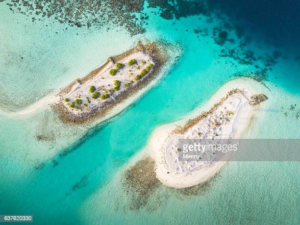South Ari Atoll Maldives Islets Aerial View