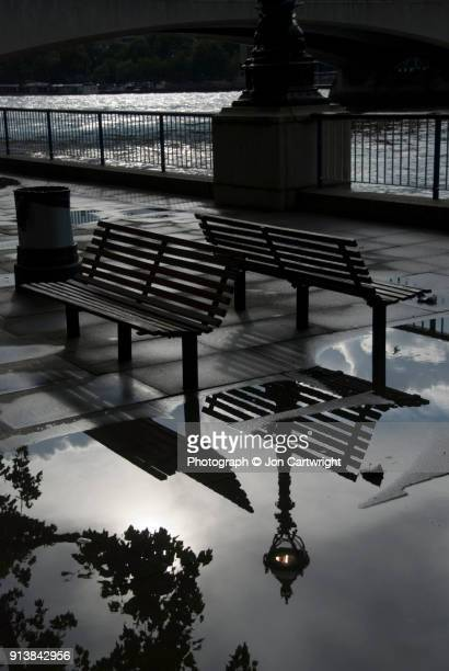 South Bank benches