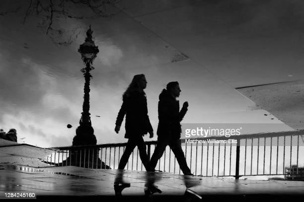 South Bank street scene, Southwark, London, England.