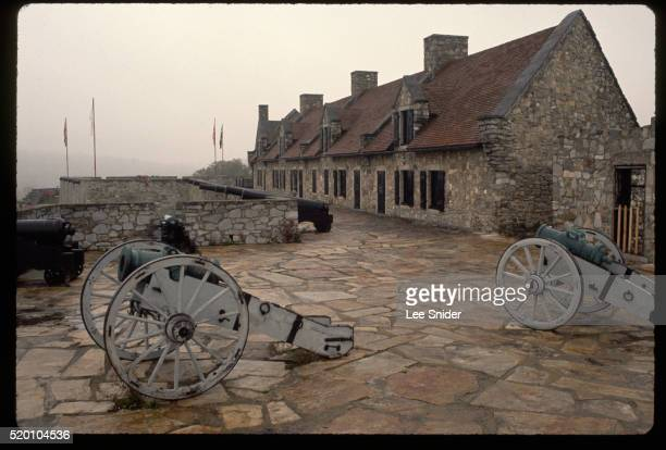 South Barracks at Fort Ticonderoga