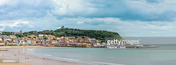 south bay scarborough - scarborough uk stock photos and pictures