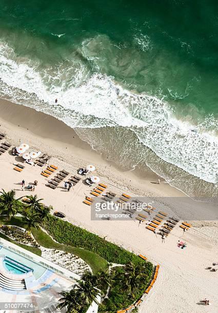 south beach from the air - miami