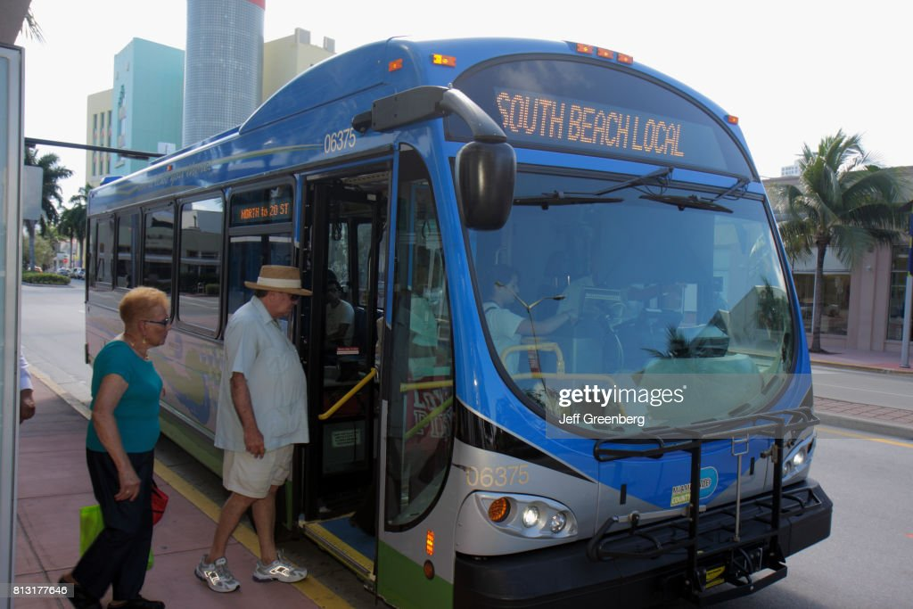 South Beach Local Metro Bus News Photo