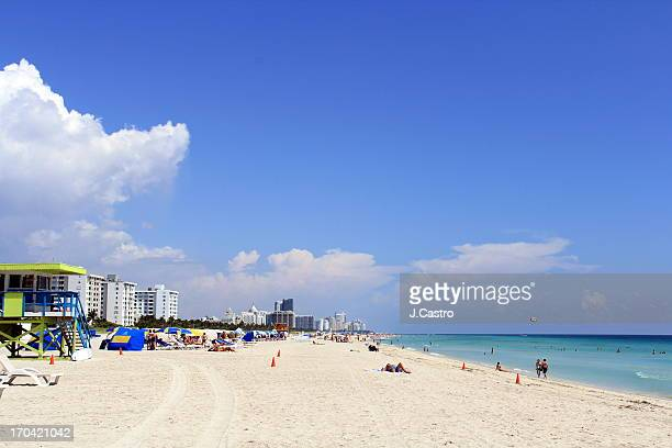 south beach - south beach stock pictures, royalty-free photos & images