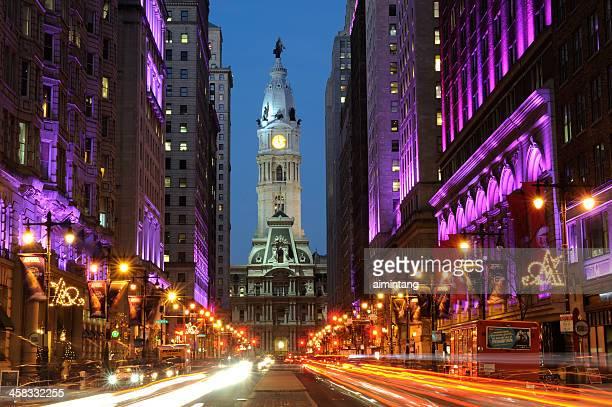 South Broad Street in Philadelphia
