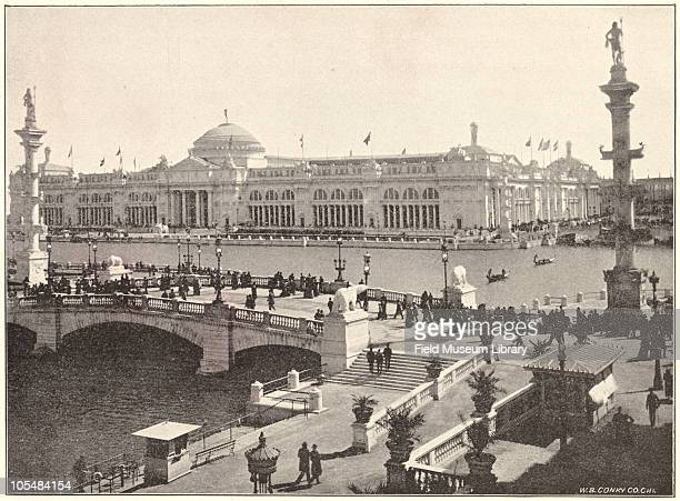 South Canal Administration Building World's Columbian Exposition Chicago Illinois 1896