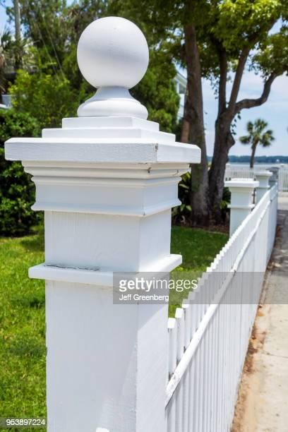 South Carolina Beaufort Lewis Reeve Sams House picket fence