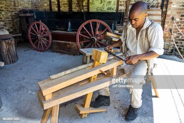 South Carolina Charleston Middleton Place National Historic Landmark Stableyards reenactor carpenter