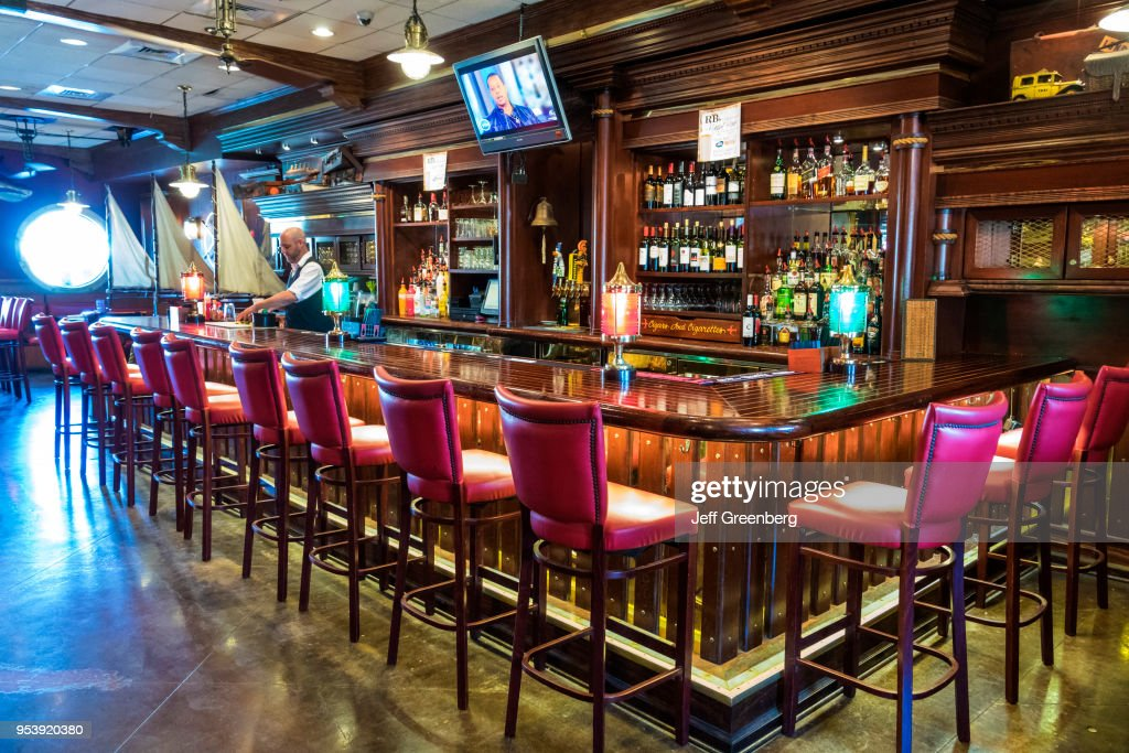 South Carolina Charleston R B S Seafood Restaurant Bar Interior News Photo