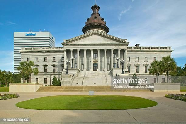 usa, south carolina, columbia, state capitol building - columbia south carolina stock pictures, royalty-free photos & images