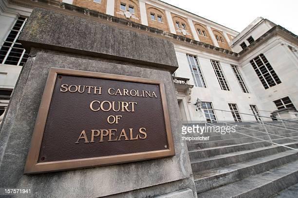 サウスカロライナ州コロンビアで控訴裁判所 - 飾り板 ストックフォトと画像