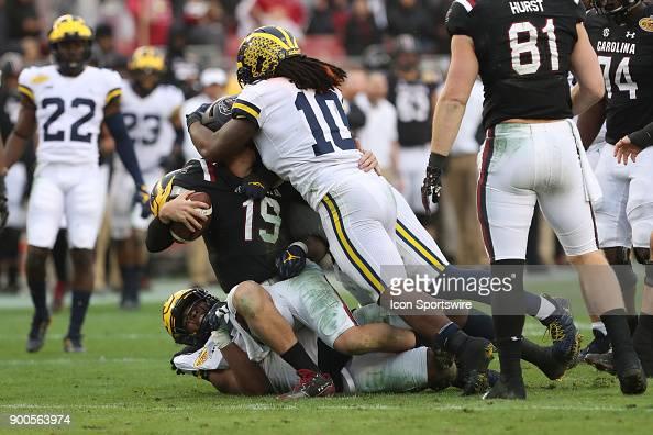 South Carolina Gamecocks quarterback Jake Bentley is ...