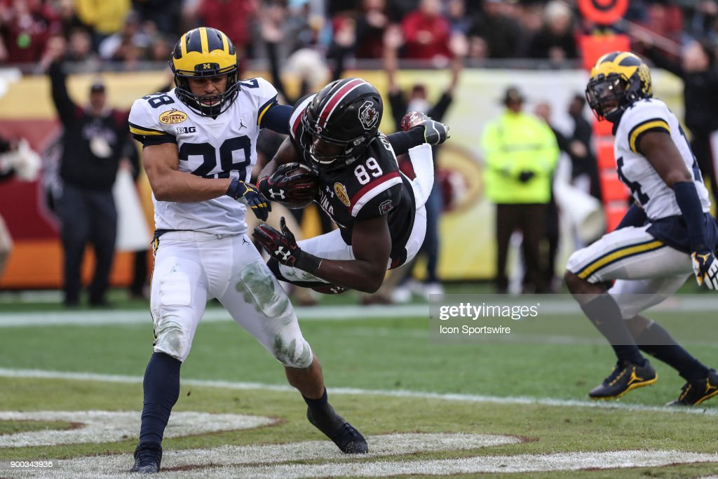COLLEGE FOOTBALL: JAN 01 Outback Bowl - Michigan v South Carolina