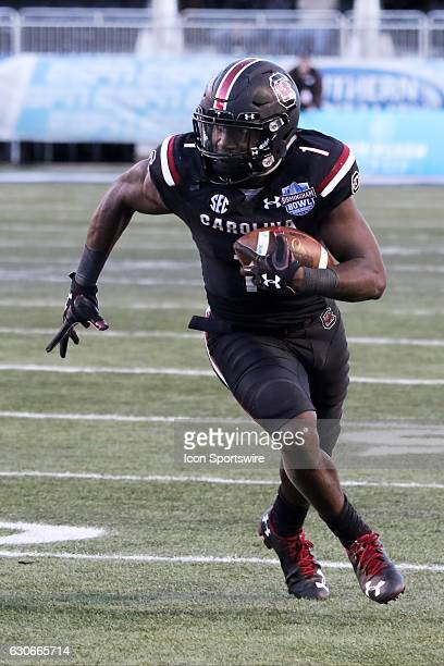 South Carolina Gamecocks wide receiver Deebo Samuel during the Birmingham Bowl between the South Carolina Gamecocks and the South Florida Bulls South...