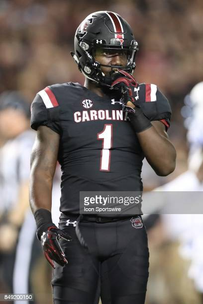 South Carolina Gamecocks wide receiver Deebo Samuel during the first half between the South Carolina Gamecocks and the Kentucky Wildcats on September...