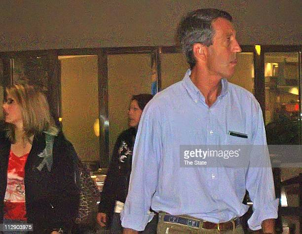 South Carolina Gov Mark Sanford arrives at HartsfieldJackson International Airport in Atlanta Georgia Wednesday June 24 2009 Sanford says he's been...