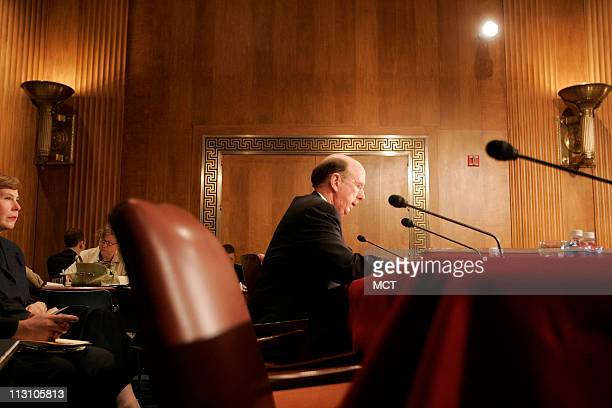 South Carolina House Speaker David Wilkins nominated Ambassador to Canada appears before the Senate Foreign Relations Committee for a confirmation...