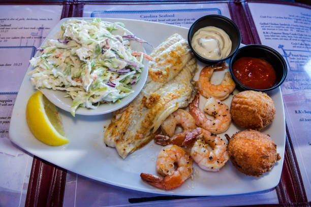 South Carolina Mt Pleasant Shem Creek R B S Seafood Restaurant