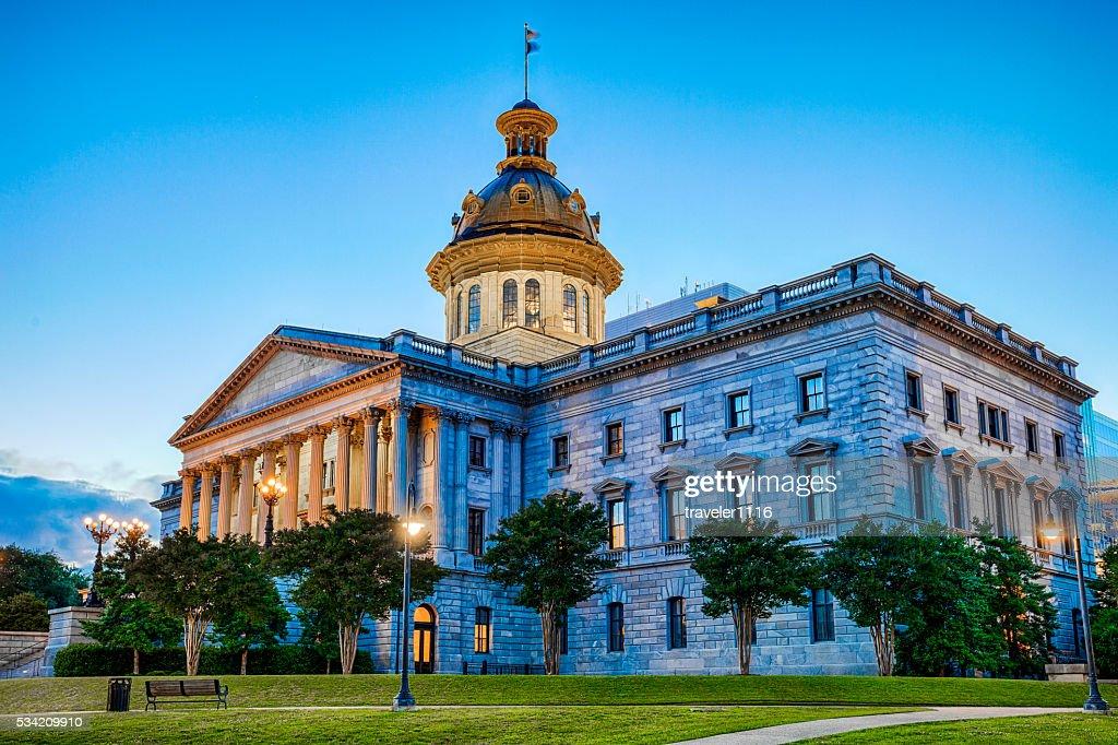 South Carolina State Capitol Building : Stock Photo