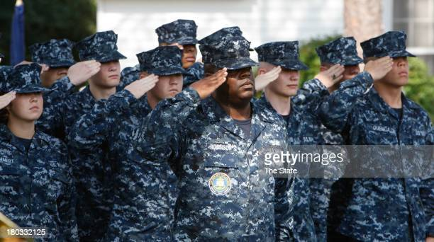 South Carolina's Fort Jackson commemorated the 12th anniversary of the attacks of Sept 11 with a wreathlaying ceremony in front of Post headquarters...