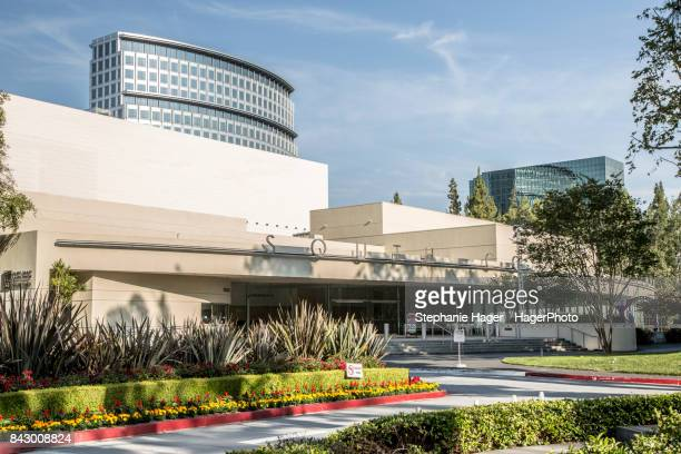 south coast repertory theater exterior - performing arts center stock photos and pictures