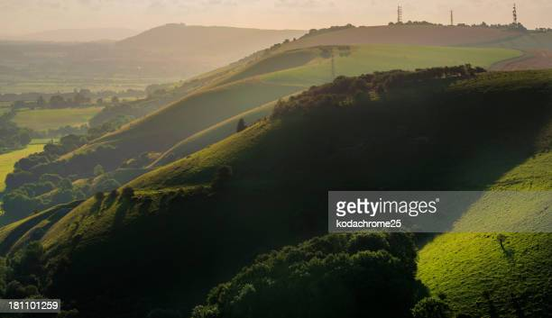 south downs - national park stock pictures, royalty-free photos & images