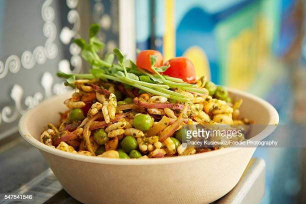 South East Asian Chickpea Salad